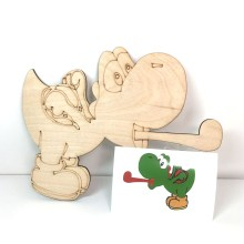 Yoshi coloring or painting