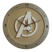 Avengers Clock on Beige background