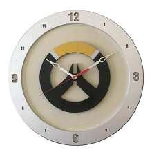 Overwatch Clock on Beige Background