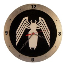 Venom Clock on Black background