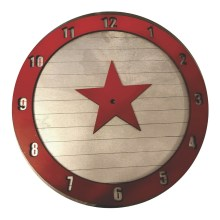 Winter Soldier Clock