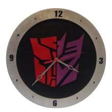 AutoCon Transformer Clock on black background
