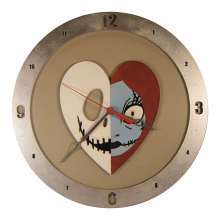 Jack and Sally on beige background