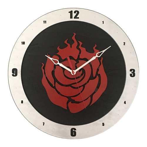RWBY Clock on Black Background