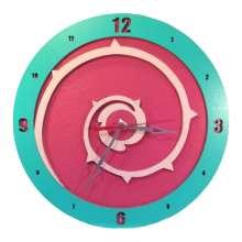 Steven Universe Rose Quartz Shield Clock