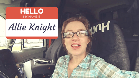 Allie Knight From Art School to Truck Driving  AllTruckJobscom