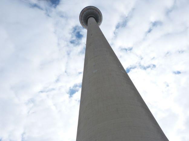 Fernsehturm, ganz groß