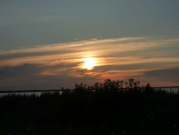 Der letzte Sonneuntergang