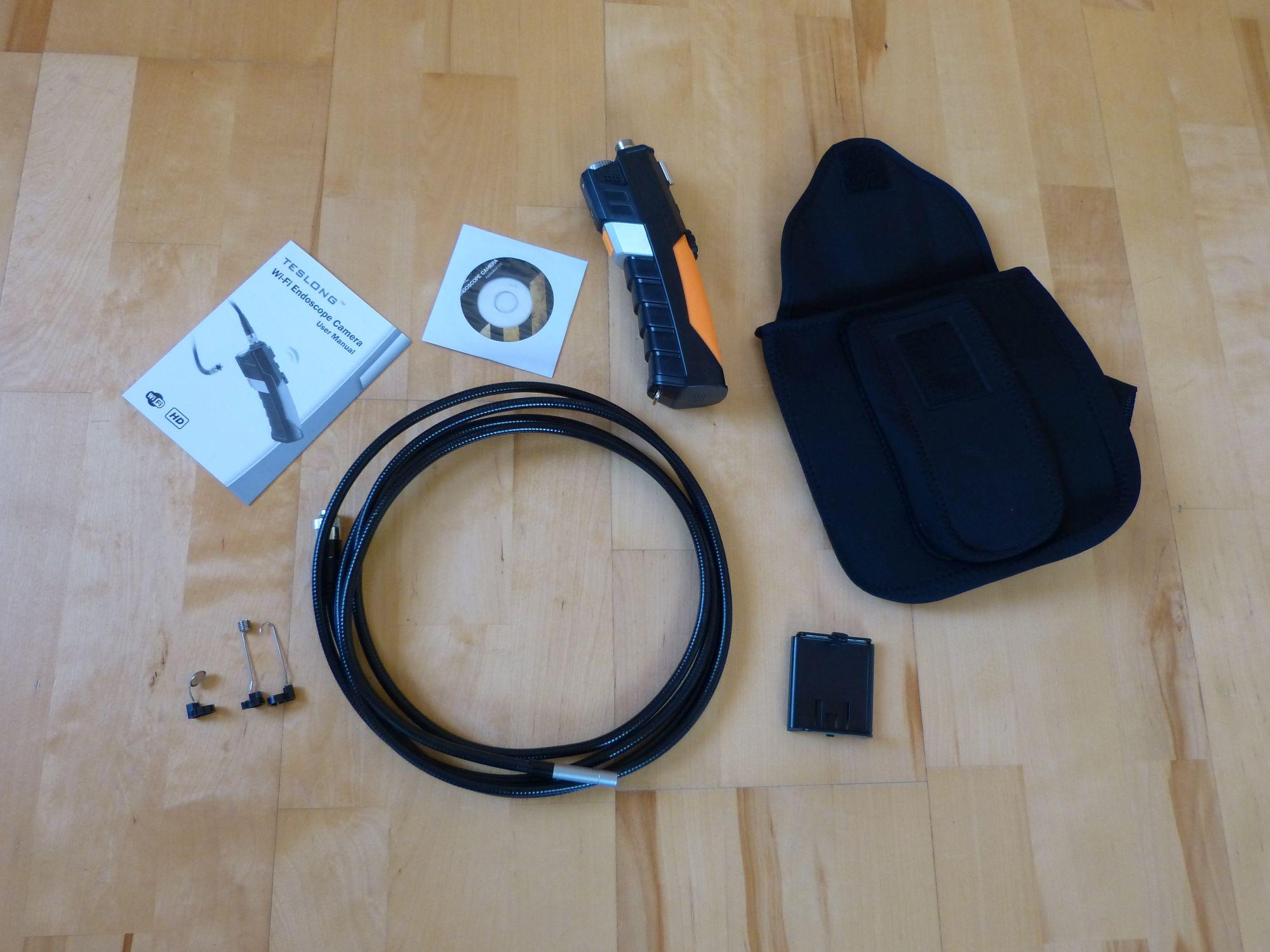 Testbericht Depstech WiFi Endoskopkamera HD | Micha's Blog