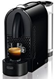 DeLonghi EN 110.B Nespresso U Kapselmaschine / 0,8 Liter Wasserbehälter, schwarz