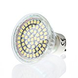 60 SMD GU10 LED Strahler 3W warmweiss