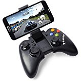 NIUTOP Ipega PG-9023 Bluetooth 3.0 Wireless Controller Gamepad Joystick Fuer Iphone4/4s/5/5s/5c Android 4.0 Smarthone/Handy, Mit 5 Multimediafunktionstasten, Mit Teleskopstaender Kann Unterstuetzen 5-10 Zoll-Geraete (PG-9023 schwarz)