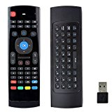 VIGICA MX3 Air Mouse Multifunction 2.4ghz Mini Wireless Keyboard Infrared Remote Control 3 gyro 3 gsensor Internet Switch for Xbmc Android TV Box IPTV HTPC Mini PC Windows Mac OS Lilux PCTV