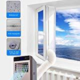 JOYOOO AirLock 100 Fensterabdichtung für mobile Klimageräte und Ablufttrockner Hot Air Stop