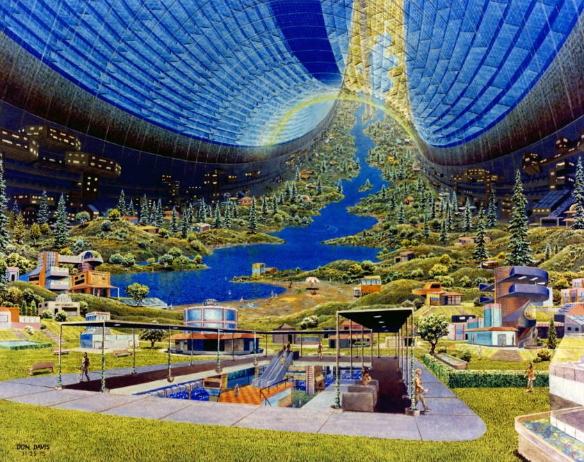 A cosmic suburb