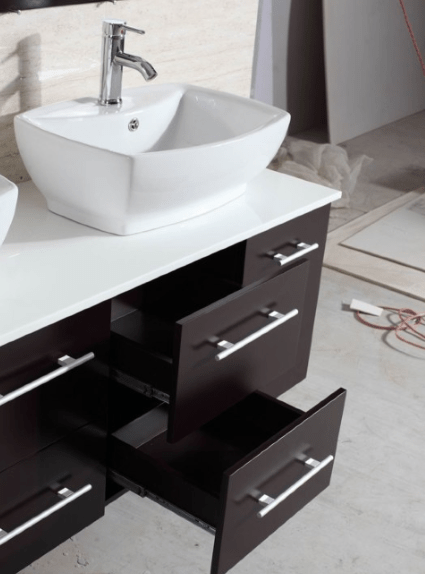 Custom Bathroom Vanities Phoenix  Installation  Allure