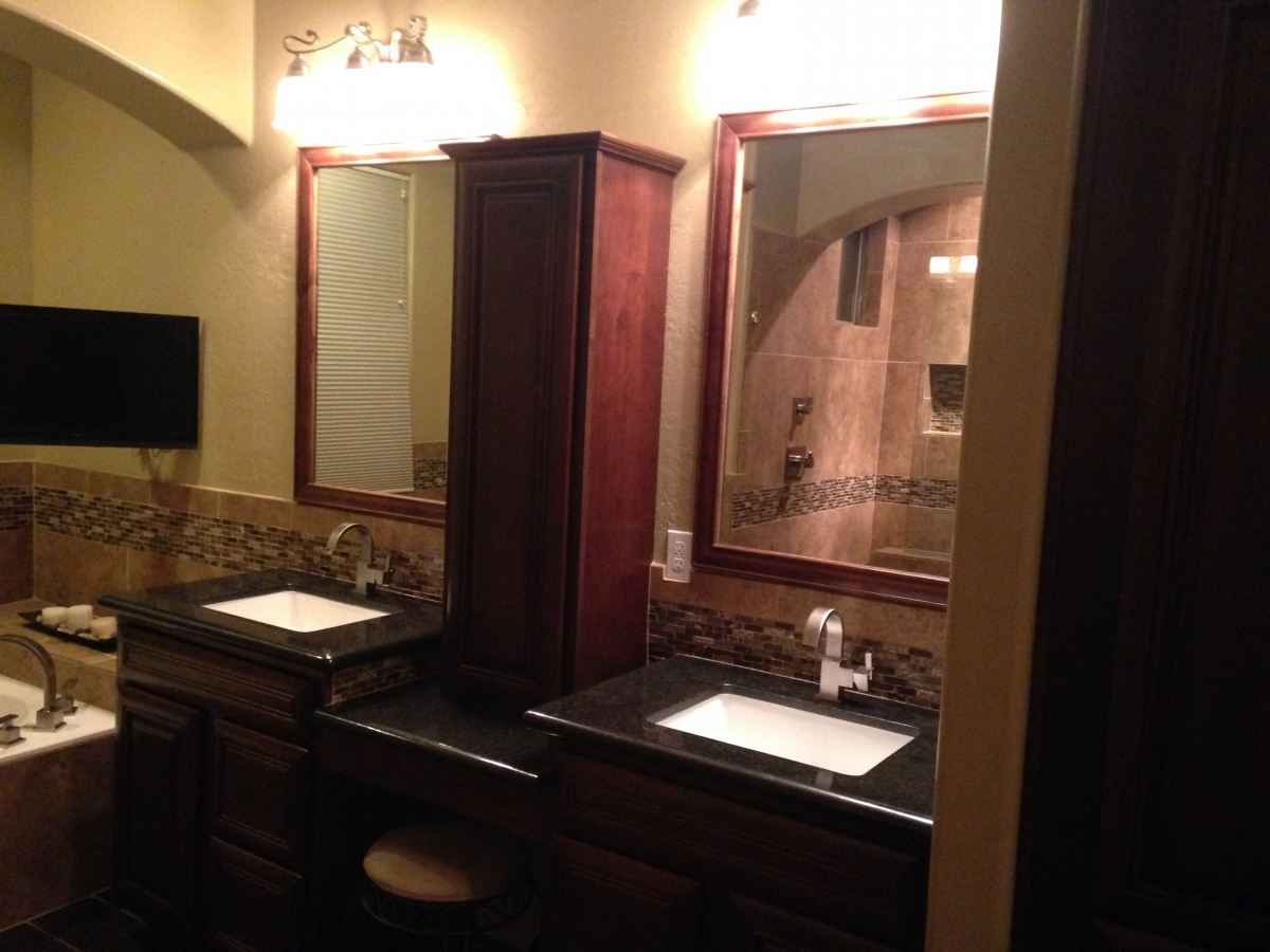 Custom Bathroom Vanities Phoenix  Design  Installation