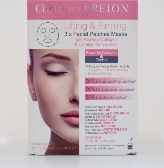 Christian Breton Lifting & Firming Facial Patches Mask