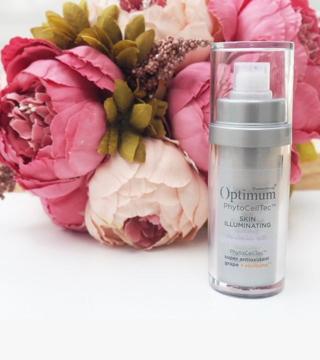 Optimum PhytoCellTec Skin Illuminating Glycolic Overnight Peel Review