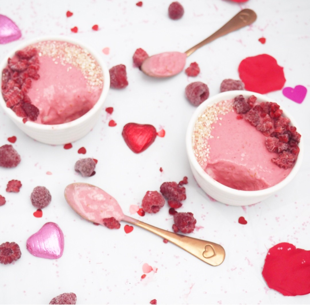 Rose & Raspberry Posset Recipe