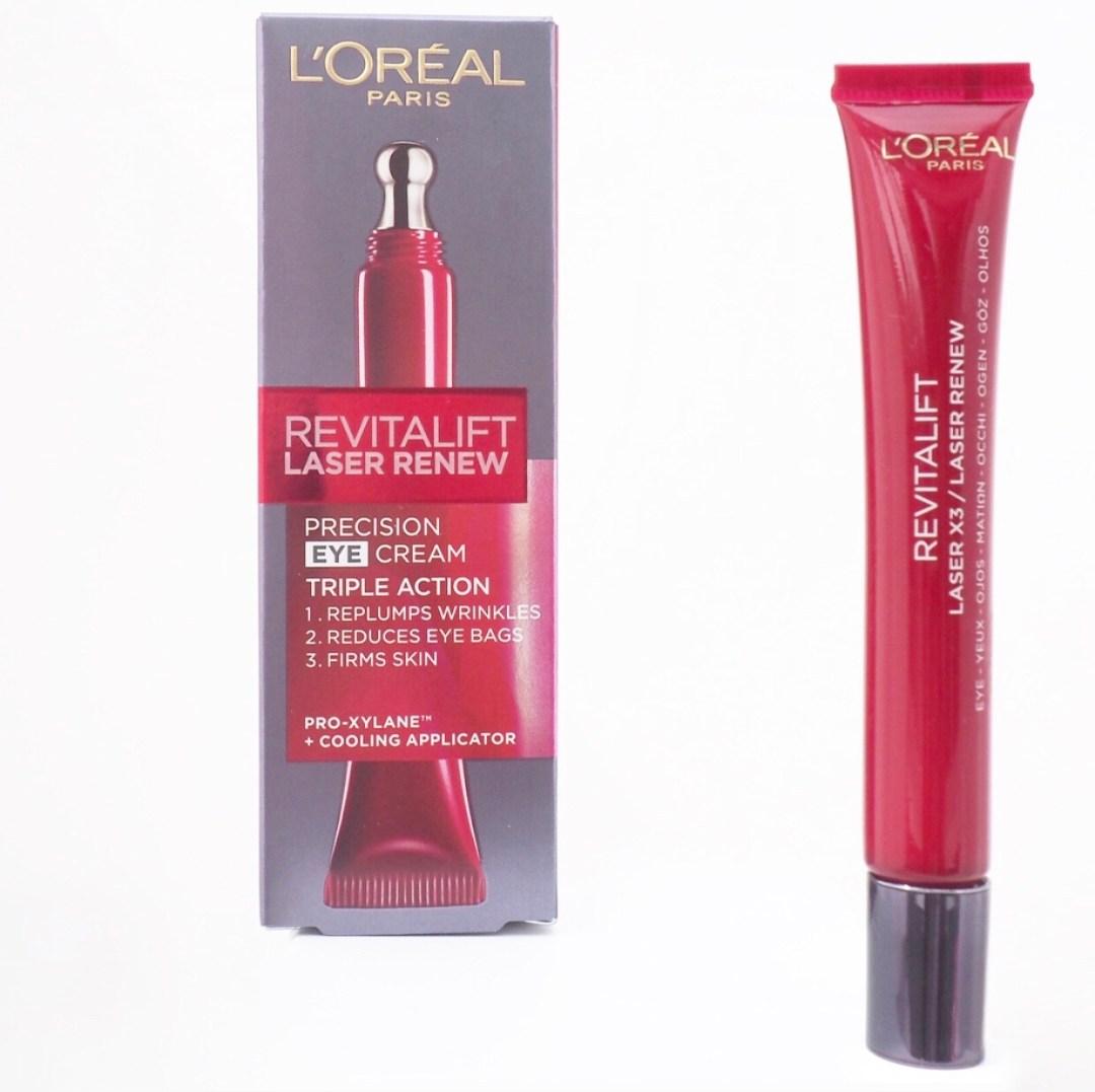 L'Oréal Revitalift Laser Renew Precision Eye Cream Review