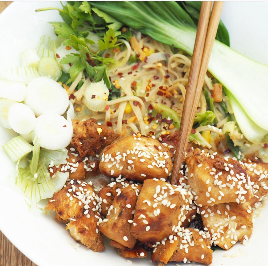 Chicken Noodle Summer Bowl Recipe