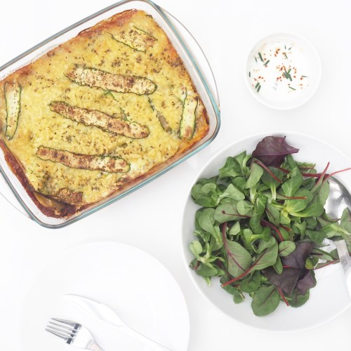 Courgette Lasagne Recipe