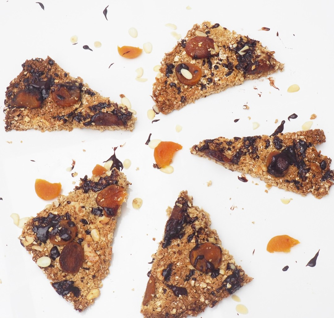Apricot, Almond & Dark Chocolate Slices Recipe