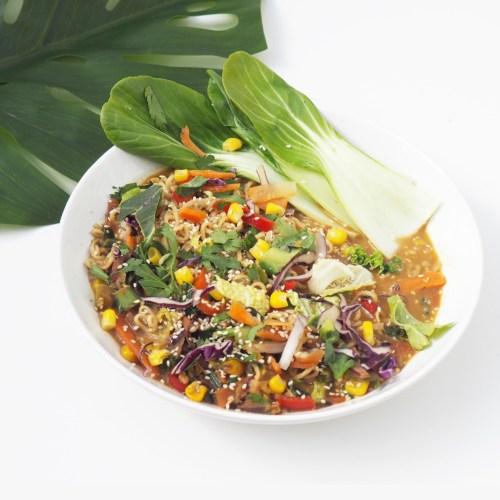Spicy Stir-Fry Vegetable Noodles Recipe
