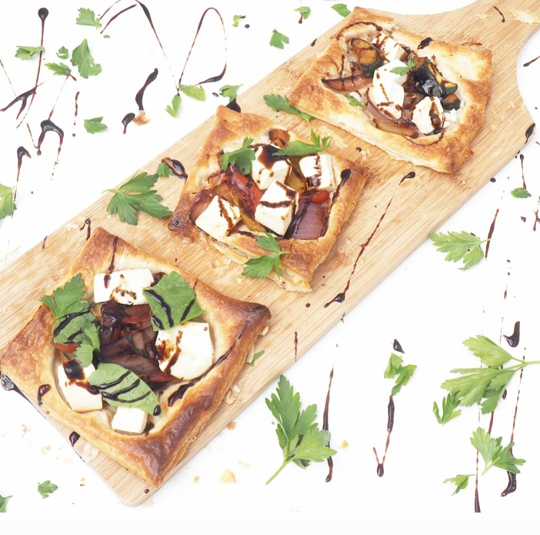 Vegetable, Feta & Balsamic Tart Recipe