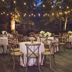 Wedding Tables And Chairs For Rent Party Table Chair Rentals In Broward Miami Palm Beach Allure 10 Bistro Lighting