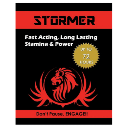 Stormer - Male Performance Booster