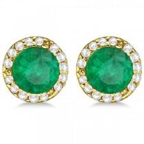 0.22CT Canary Yellow SI1-SI2 Diamond 18K Yellow Gold Men/'s Single Stud Earring