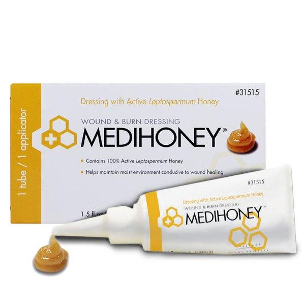Medihoney Hydrocolloid Honey Wound Fill Paste, 1.5oz