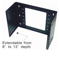 Patch Panel Wall Mount Bracket - 4U, Swingout Extensible ...