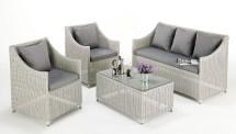 contemporary rattan sofa set wicker
