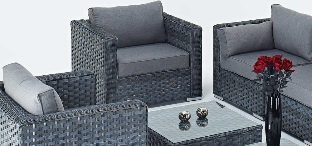 wicker sofa sets uk dwell bed pisa all weather rattan garden furniture gorgeous grey
