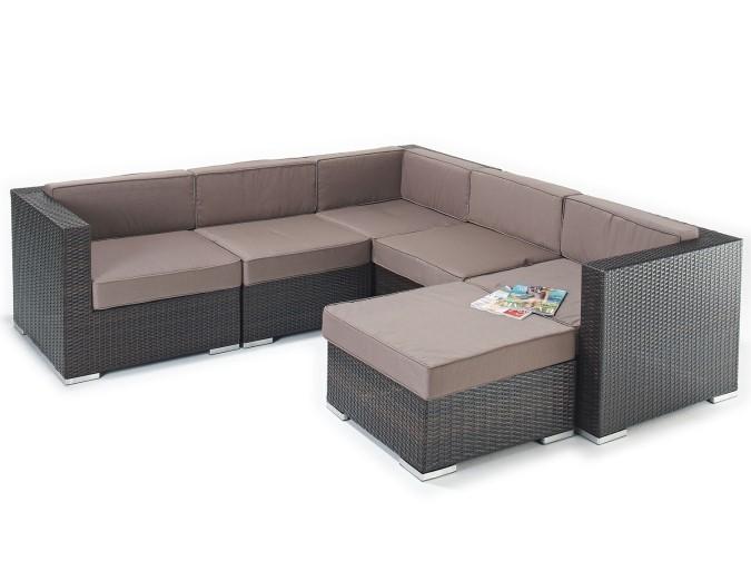 sophia sofa range cover for dogs elegant rattan corner set - jessica all weather ...