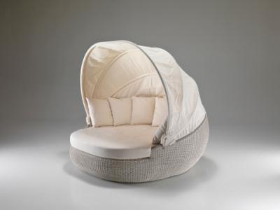 Aloha sofa prendisole a conchiglia Ingrosso Arredo per Esterni e Arredamento Giardino  N