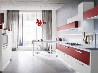 Cucina componibile bicolore mod ONDA Cucine Componibili