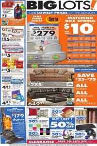 Big Lots Weekly Ad Amp Circular Specials