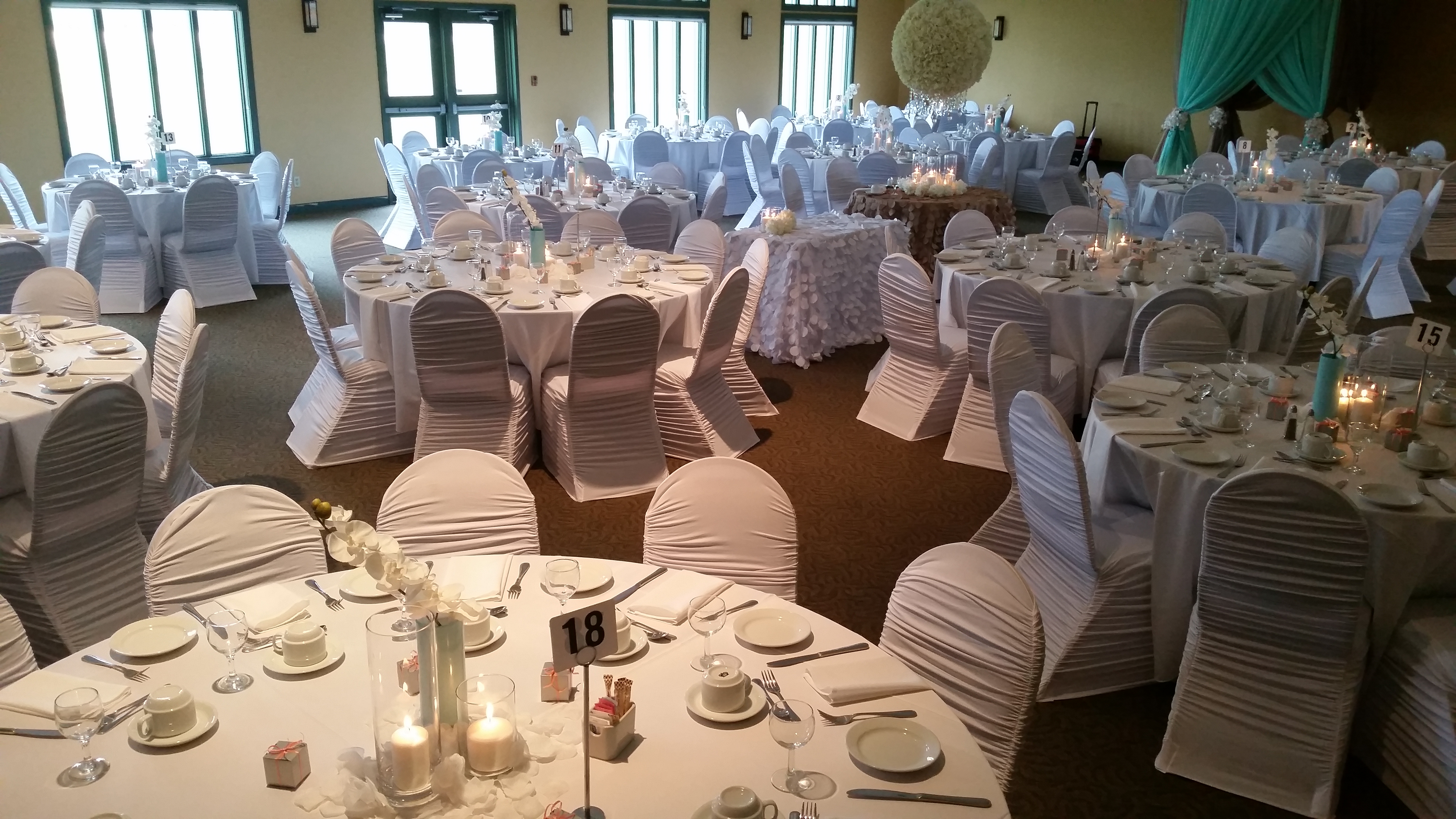 wedding chair cover rentals edmonton nursery with ottoman pictures of past weddings all west