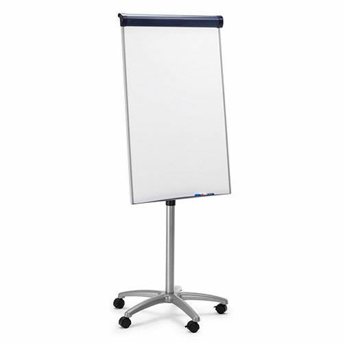 Classic Steel Magnetic Mobile Flipchart Easel
