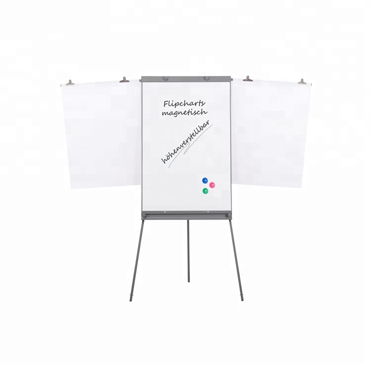 Tripod Flipchart Board with Extension Arms