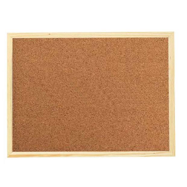 Wood Frame Bulletin Corkboard