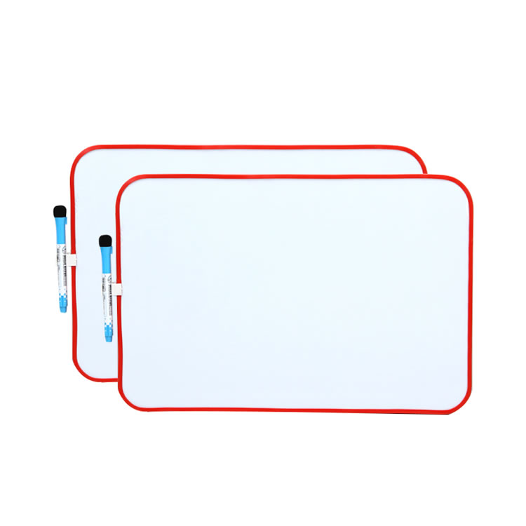 Two-Sided Kids Mini Plastic Frame Magnetic Whiteboard