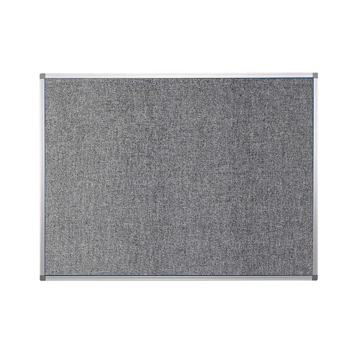 Home Office Wall Decor Grey Felt Bulletin Board