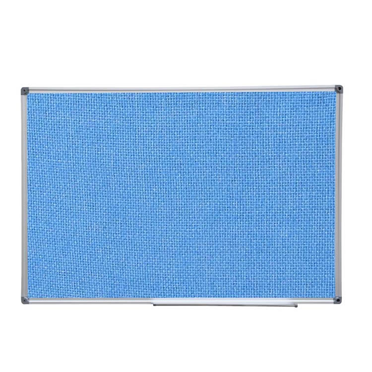 Large Wall Mount Pin Fabric Covered Bulletin Board