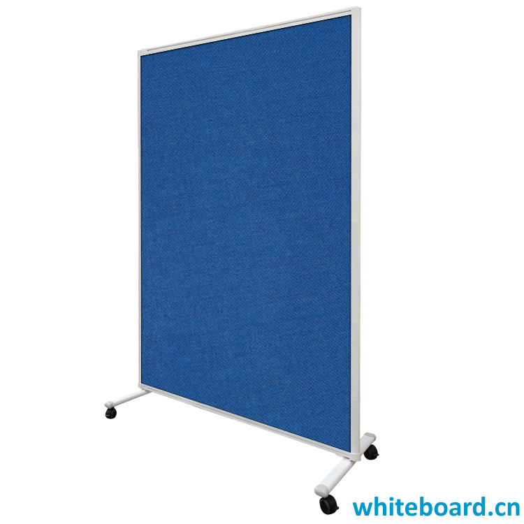 Free Standing Double Sided Message Fabric Pin Board