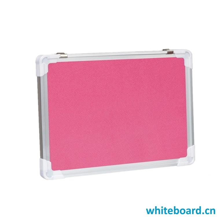 Red Surface EVA Fabric Memo Board Pin Boards